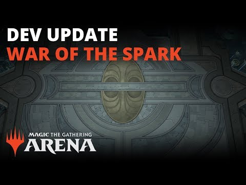 MTG Arena | Developer Update: War of the Spark - YouTube
