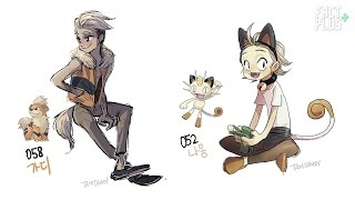 Artist Turns Pokémon Into Humans