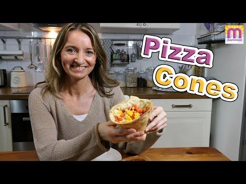 PIZZA CONES Pizza essen wie Döner DIY marieland
