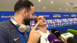 Antoine Griezmann raconte le déroulé de sa journée avec Adil Rami avant la finale 2018