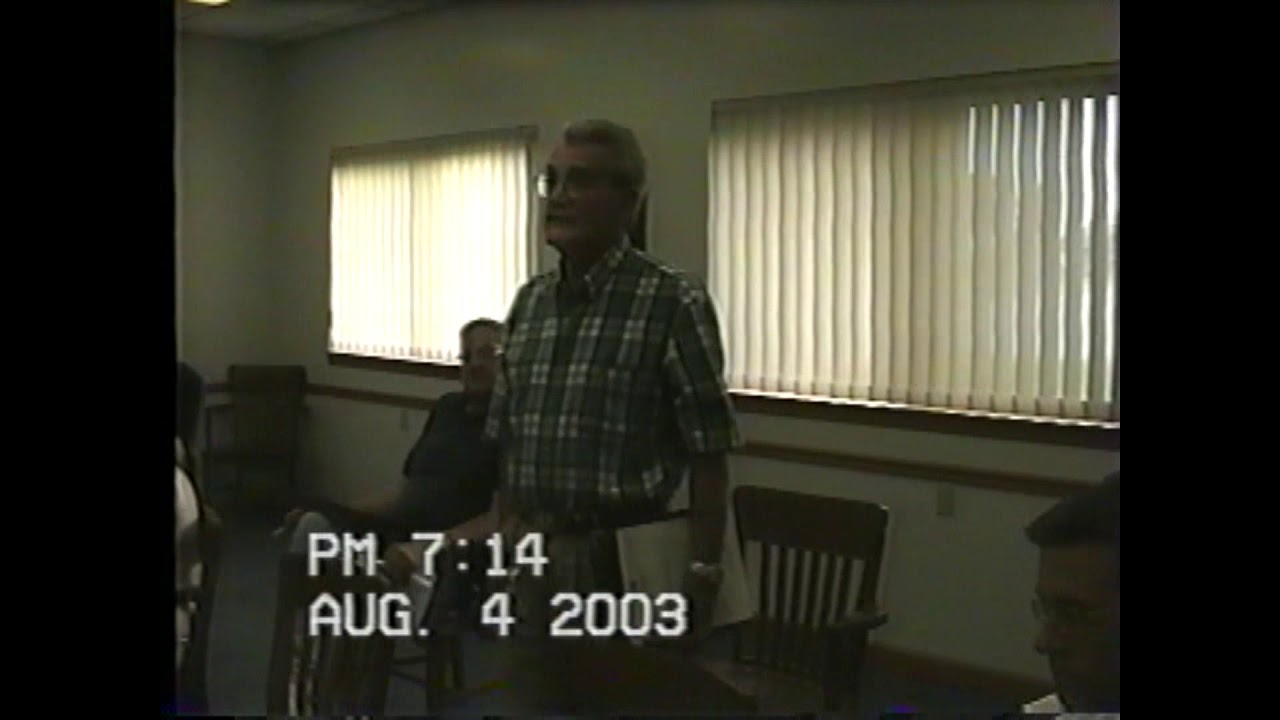 Rouses Point Village Board Meeting  8-4-03