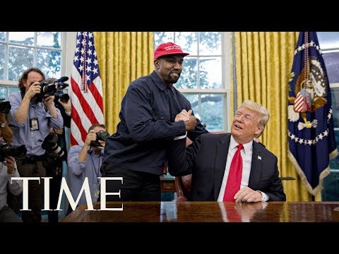 President Donald Trump Meets Kanye West For Lunch At The White House | TIME