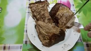 Говяжья грудинка в духовке. Рецепт из говядины