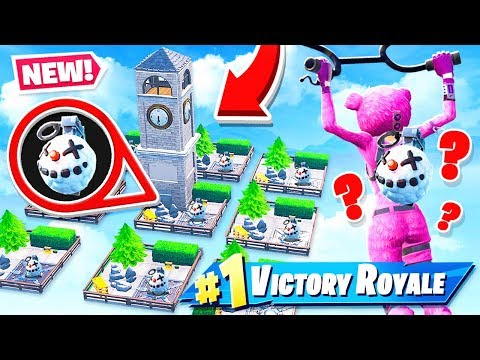 CHILLER Grenades SKY WARS *NEW* Game Mode in Fortnite Battle Royale