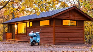 Absolutely Cozy King Park Model Tiny House By Escape Traveler | Tiny House Big Living