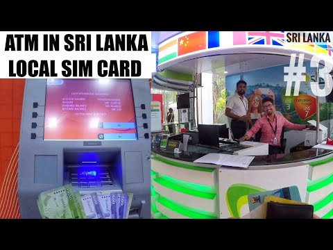 HOW I GOT SRI LANKAN CURRENCY? Cheapest SIM CARD : Bus To City Centre