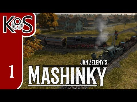 Mashinky Ep 1: THE TRAIN GAME WE'VE BEEN WAITING FOR! - ALPHA First Look - Let's Play, Gameplay