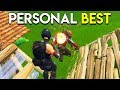 PERSONAL BEST! - Fortnite: Battle Royale