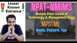 NMIMS-NPAT Exam 🔥Full Details- Get admission into MPSTME: Mukesh Patel College, Mumbai Campus😍😍