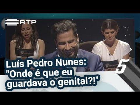 """Pressão no Ar - Luís Pedro Nunes: """"Onde é que eu guardava o genital?!"""" - 5 Para a Meia-Noite"""