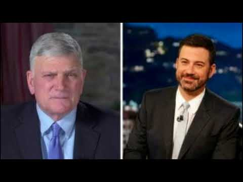 "Fed-Up Rev. Graham Lays Into Jimmy Kimmel… ""Where Does [He] Get Off…?"""