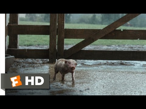 Charlotte's Web (2/10) Movie CLIP - Wilbur Plays in the Mud (2006) HD