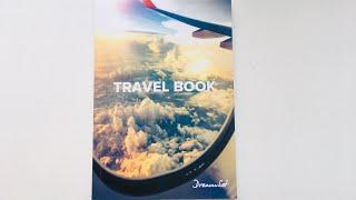 Крутейший блокнот TRAVEL BOOK dream.set_ подробный обзор ежедневника