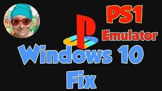 Ps1 Emulator Fast setup & Windows 10 Fix How TO