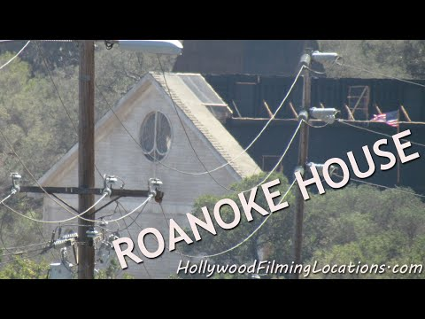 We Found The ROANOKE HOUSE In MALIBU, CALIFORNIA - American Horror Story: Season 6