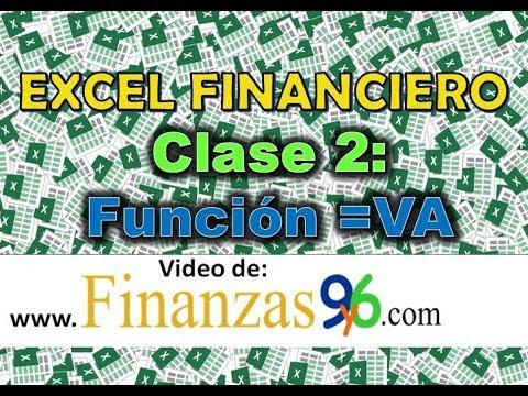 Función Valor Actual =VA - Clase 2 - Excel Financiero