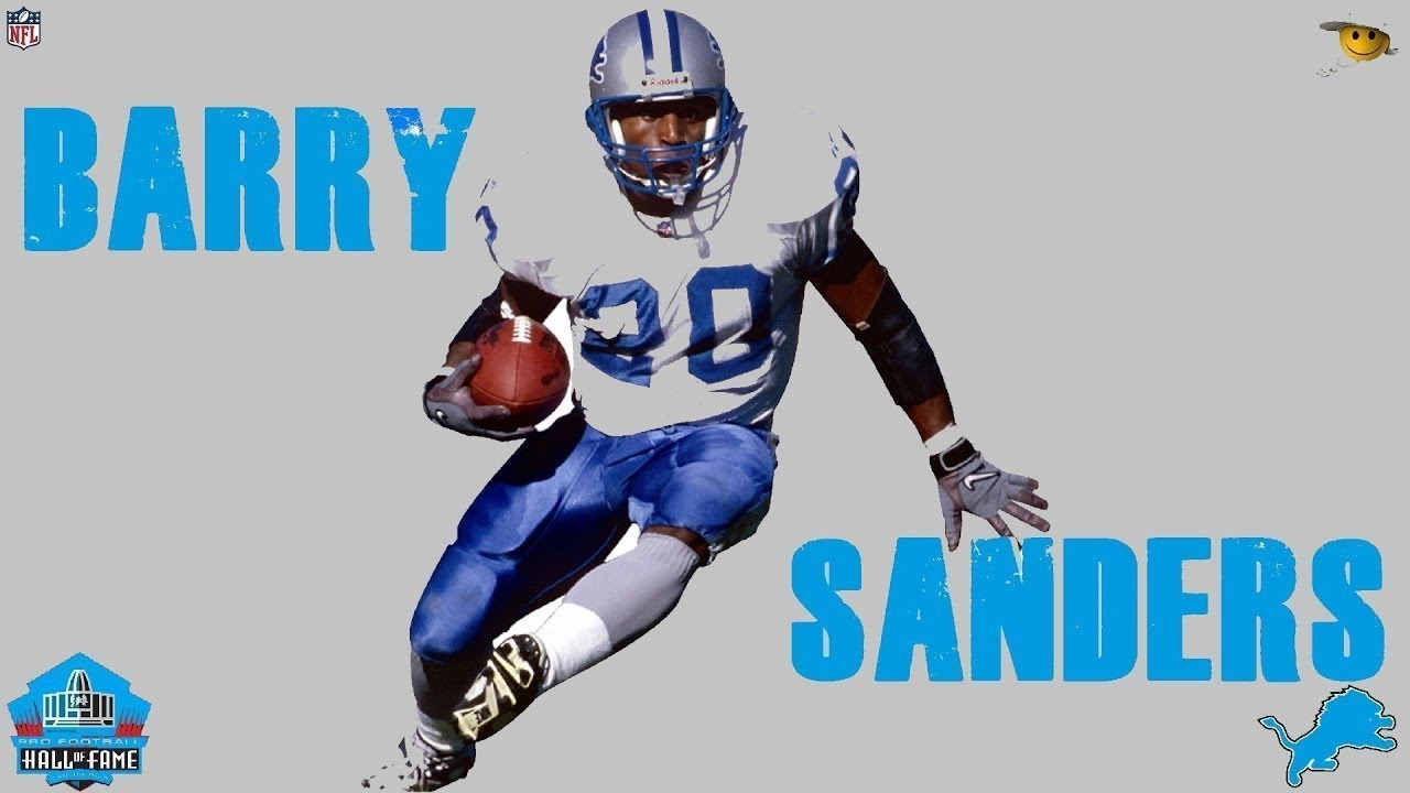 d29fcb40 Barry Sanders (The Greatest Running back in NFL History) - YouTube