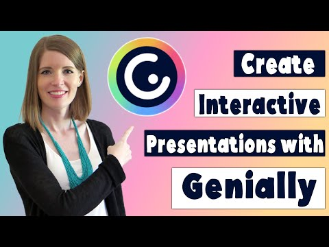 Create Interactive Presentations with Genially   Genially Tutorial for Teachers Part 1