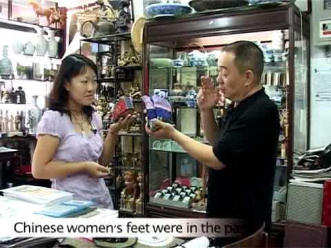 Shopping in Beijing: Antique Shop in Beijing, Video 2 of 2