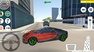 Car Driving Red Bugatti Drive Simulator: Real Parking Car Game - Android GamePlay HD