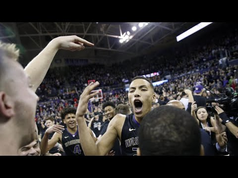 Men's Basketball: Dominic Green hits game-winning buzzer beater in Huskies' upset