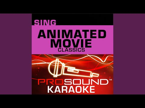 Whistle While You Work (Karaoke Lead Vocal Demo) (In The Style Of Snow White)