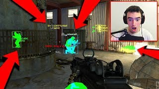 HACKER DESTROYS ME... (Call of Duty Aimbot Wallhack Gameplay)