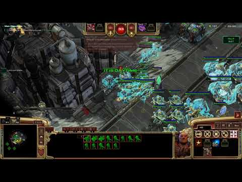 StarCtaft 2 Co-Op Mengsk Level 1 To 2 (patch Is Fixed)