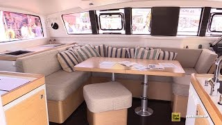 2016 Outremer 51 Catamaran - Deck and Interior Walkaround - 2016 Annapolis Sailboat Show