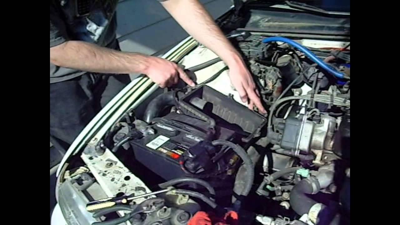 1991 Honda Accord Intake Manifold Installing Short Ram Youtube 1280x720
