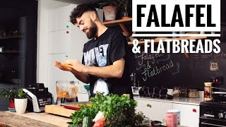 FALAFEL & FLATBREADS   Avant-Garde Vegan