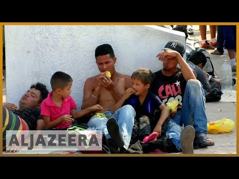 🇲🇽 Police halt migrant caravan in southern Mexico | Al Jazeera English