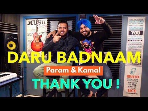 "Daru Badnaam | Kamal Kahlon & Param Singh | ""THANK YOU"" VIDEO 