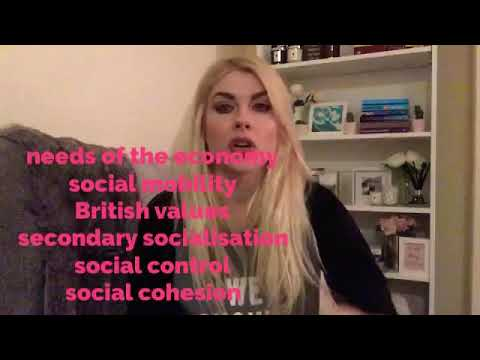Education Sociology Revision Miss Harper