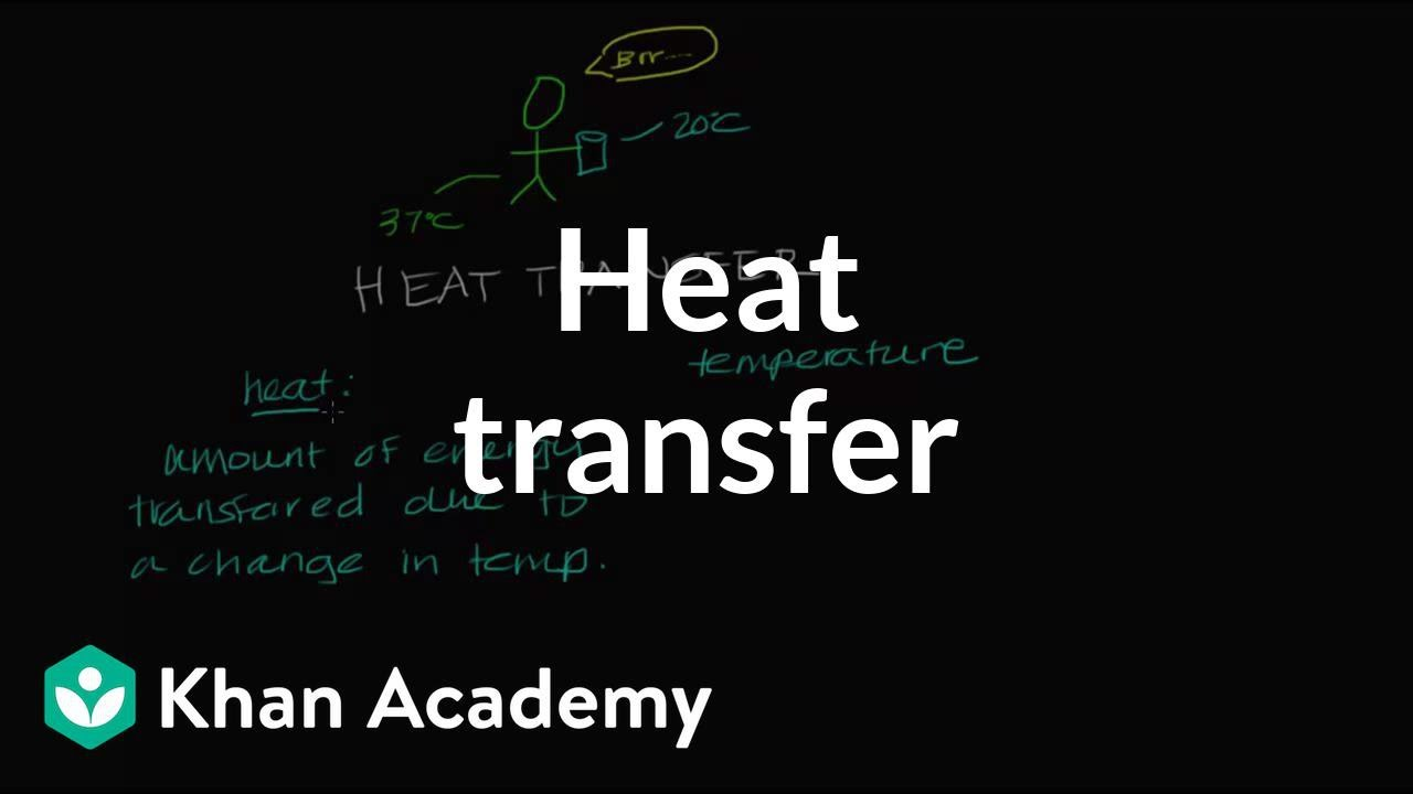 Heat transfer (video)   Biomolecules   Khan Academy [ 720 x 1280 Pixel ]