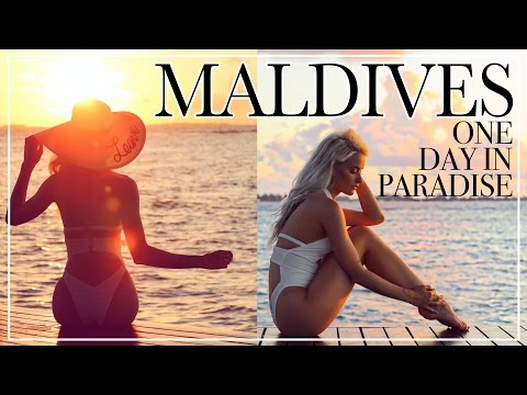 A DAY IN MY LIFE IN THE MALDIVES