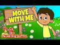 Gambar cover Brain Break ♫ Exercise Song for Kids ♫ Fitness Songs Kids ♫ Move with Me ♫ The Learning Station