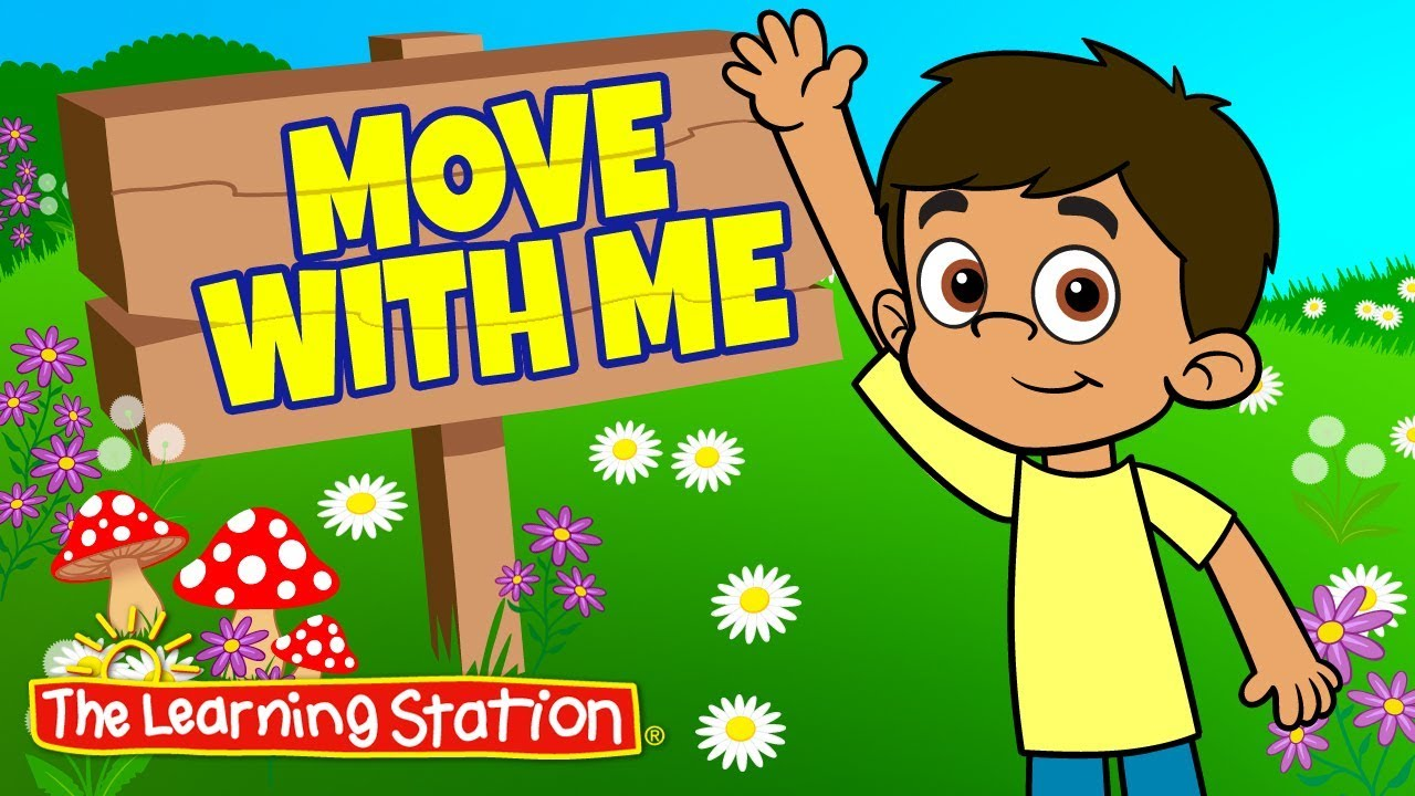 Brain Break Exercise Song For Kids Fitness Songs Kids Move With Me The Learning Station Youtube