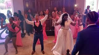 The Best Wedding Git Up Challenge of 2019 / Blanco Brown /RoyalRoberson Wedding Style Video