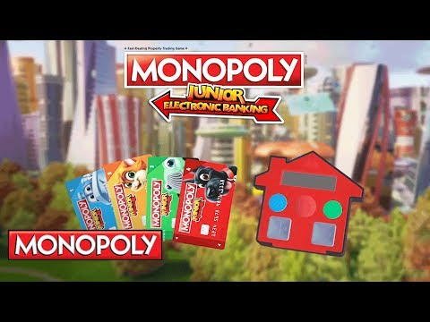 'Monopoly Jr. Electronic Banking' Official Teaser - Hasbro Gaming