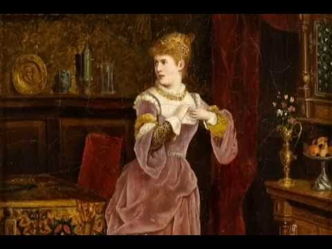 """W. A. Mozart. Countess's aria from the opera """"The Marriage of Figaro."""""""