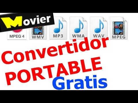 Convertidor Gratis De Archivos De Videos (Programa Portable)