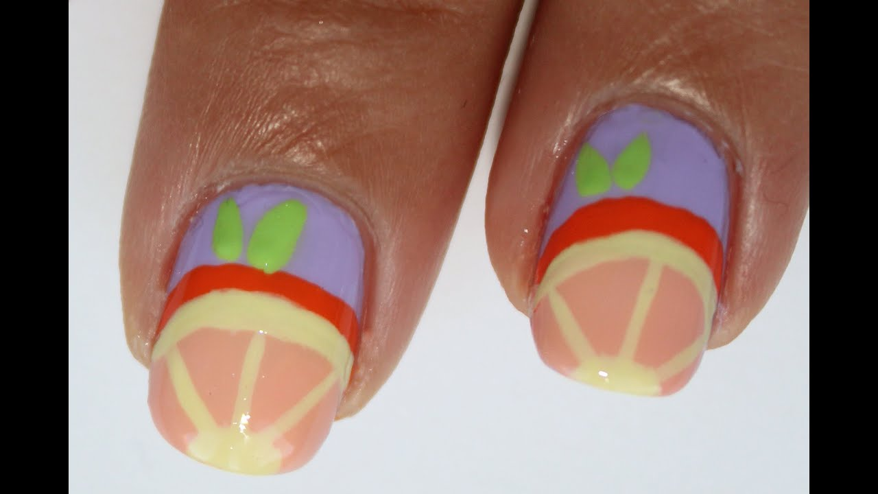 Fruit Nail Art Tutorial