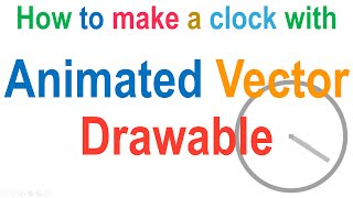 247 Animated Vector Drawable Example Android |
