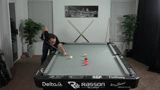 Billiards Drill #11: Re-position!!