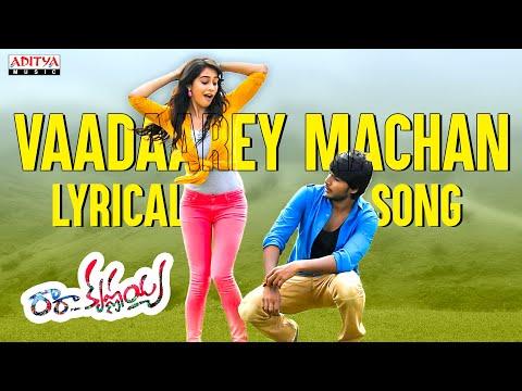 Vadarey Macha Full Song With Lyrics - Ra Ra Krishnayya Songs - Sandeep Kishan, Regina Cassandra