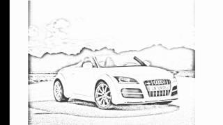 Auto Draw 2: Audi TT Clubsport Quattro