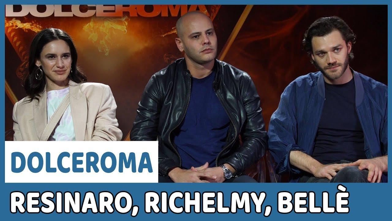 Dolceroma: Fabio Resinaro e il cast sul