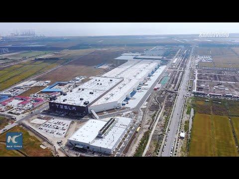 Sneak peek of Tesla's Shanghai gigafactory production line