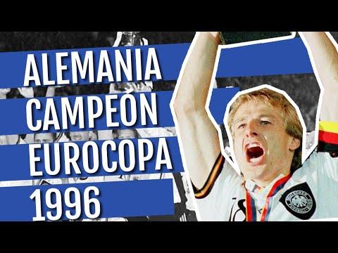 Alemania Campeón Eurocopa 1996: Demuestran Su Grandeza Ganando En La Catedral Del Fútbol